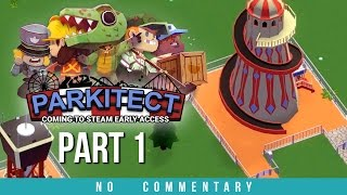 Parkitect Gameplay - Starting Out (no commentary)
