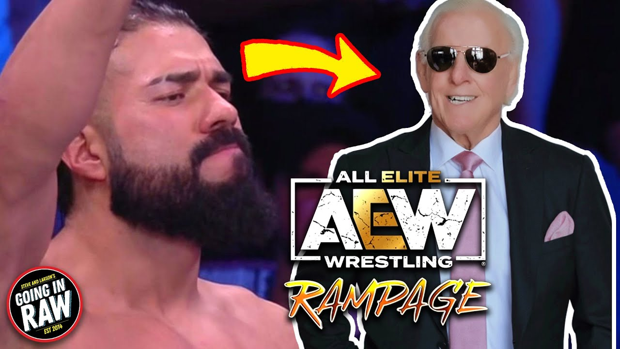 Andrade's New Manager: RIC FLAIR? AEW Rampage Review & Full Results