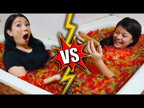 BERENDAM ORBEEZ Di KAMAR MANDI WC, IBU VS ANAK !! | Drama Parodi Lucu | CnX Adventurers