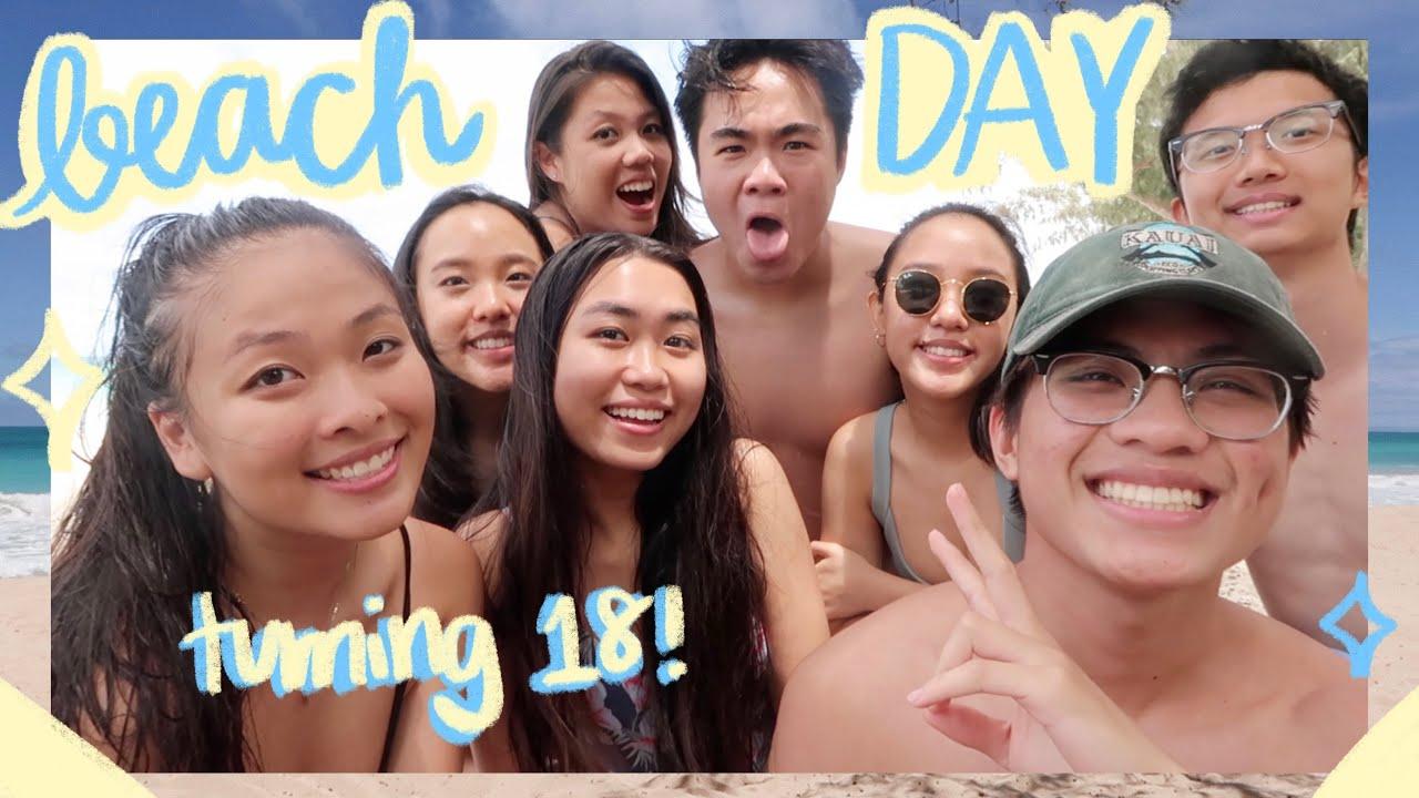 *serotonin-filled* summer birthday beach vlog