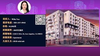 洛杉矶Downtown 豪华公寓 1B1B出租《看房直播间》2019.11.7第21期