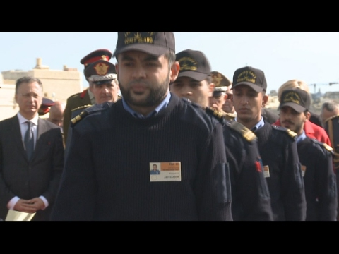 Migrant crisis: How Italy is training Libyan coast guards