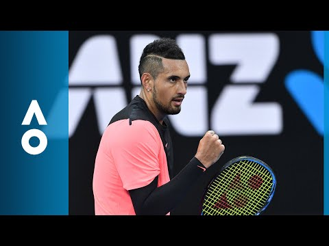 Nick Kyrgios v Rogerio Dutra Silva match highlights (1R) | Australian Open 2018