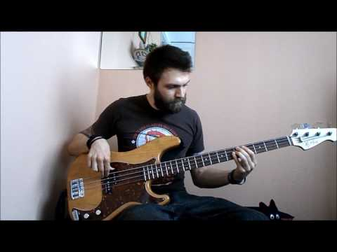 Side Walk Slam - Time Will Pass You By (bass cover)