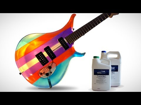 I Built a Guitar Out of Epoxy Resin