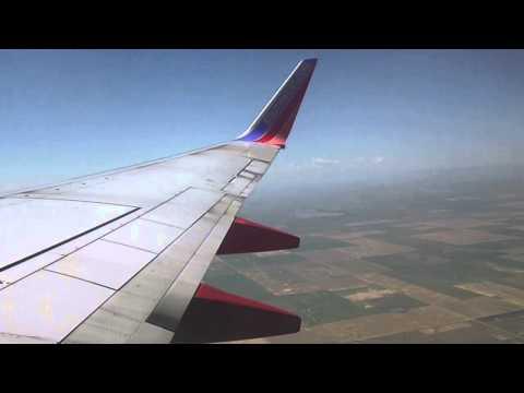 SPIRIT ONE! Southwest Airlines 737-700 FULL FLIGHT Denver,CO to Kansas City,MO
