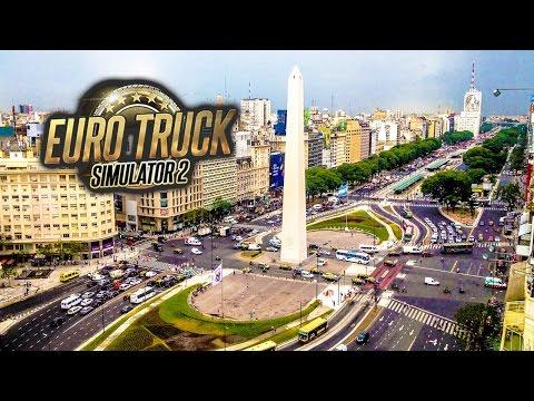 DE PASO POR BUENOS AIRES - EURO TRUCK SIMULATOR 2