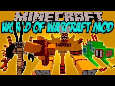 WOW MOD - World of warcraft en minecraft!! - Minecraft mod 1.7.10 Review ESPAÑOL