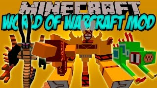 WOW MOD - World of warcraft en minecraft!! - Minecraft mod 1.7.10 Review ESPAÑOL