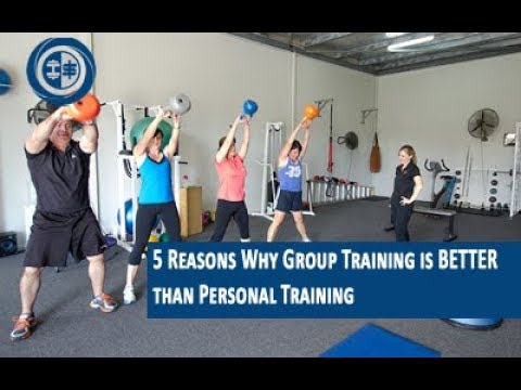 Personal Trainer Tips 5 Reasons Why Group Training is BETTER than Personal Training