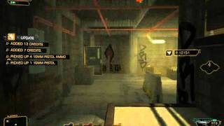 Deus Ex - Human Revolution (low level stealth gameplay)