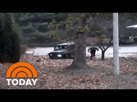North Korean Soldier's Daring Dash Across Demilitarized Zone Caught On Camera | TODAY