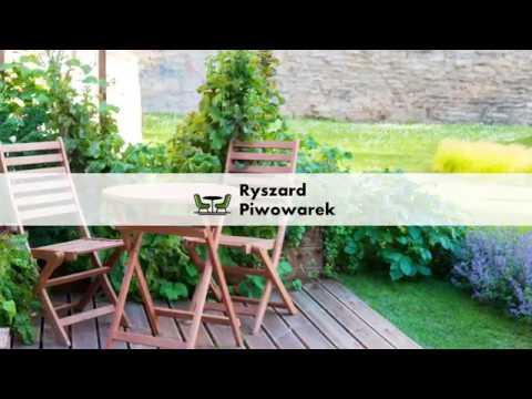Meble Ogrodowe Altany Ogrodowe Krzesła Ogrodowe Piotraszewo Ryszard Piwowarek