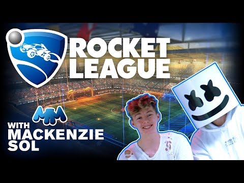 Rocket League Let's Play Challenge Ft. Mackenzie Sol | Gaming with Marshmello thumbnail