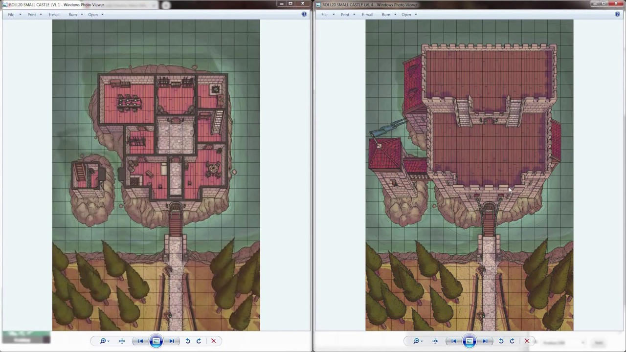 Creating Multilayered Battlemaps in Roll20