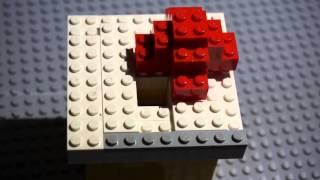 """Lego Candy Dispenser V1 """"christmas Edition"""""""