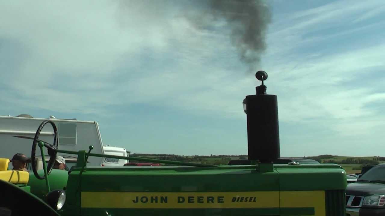 Dyno 1958 John Deere 720 Diesel Standard Electric Start Tractor