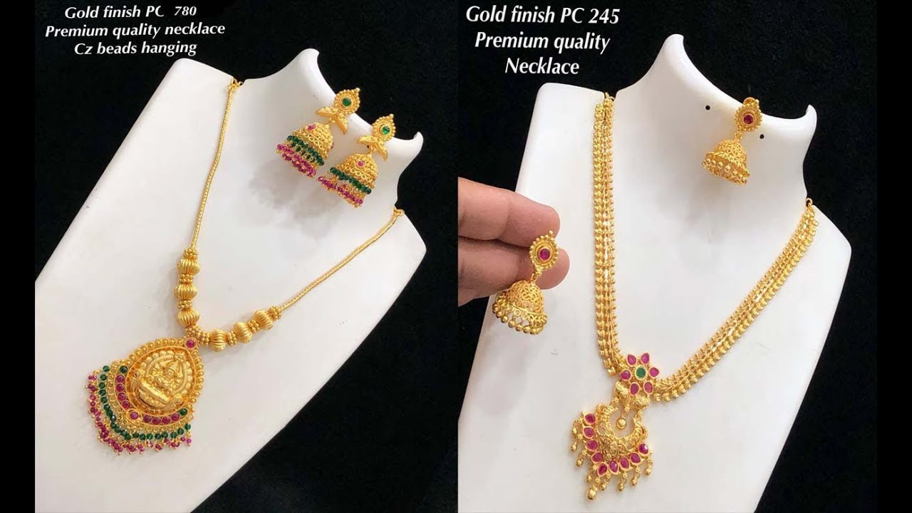New Arrival One Gram Gold Necklace Design Collections With Price Youtube