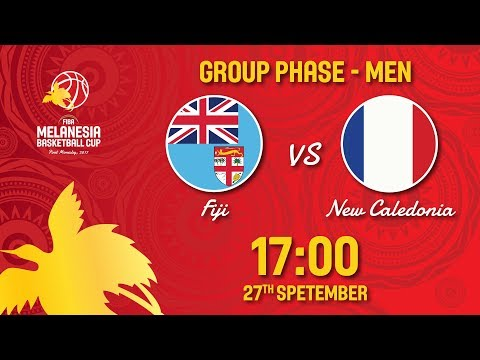 Fiji v New Caledonia - Full Game - FIBA Melanesia Basketball Cup 2017