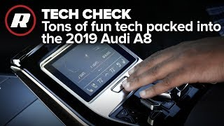 Tech Check: Front to rear the 2019 Audi A8 is loaded with tech | MMI Touch Response