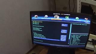 Налаштування BIOS материнської плати GIGABYTE 970A DS3P для майнінг