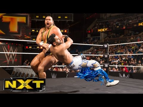 Heavy Machinery vs. The Bollywood Boyz: WWE NXT, April 5, 2017