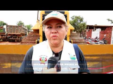 INAUGURACIÓN  DE LOSA DEPORTIVA DE LA IE DE PACAHUARA