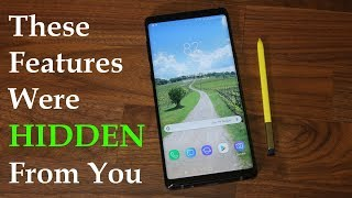 Samsung Galaxy Note 9 - 10 HIDDEN Features! (You Have Never Seen)