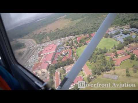 Arrival into Wilson Airport - Nairobi