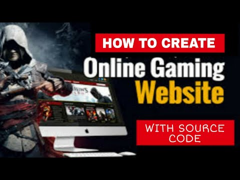 How To Create Online Gaming Website With Html Source Code || 5 Games Html Source Code