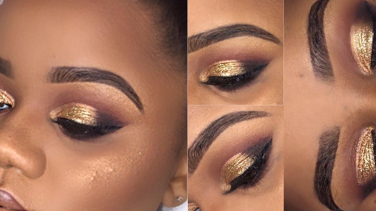 gold prom makeup makeup vidalondon