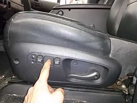 Bg0718 2001 Dodge Durango Driver Side Front Seat Youtube