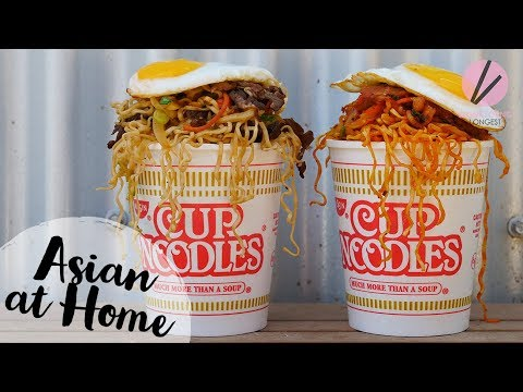 How to make a good beef ramen with instant noodles better