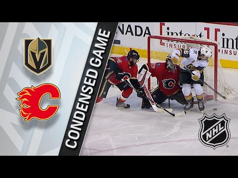 04/07/18 Condensed Game: Golden Knights @ Flames