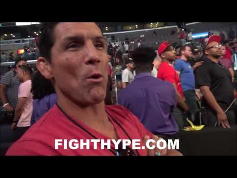 "Thumbnail: FRANK SHAMROCK IMMEDIATE REACTION TO MAYWEATHER VS. MCGREGOR HEATED FACE OFF: ""KIND OF CRAZY"""