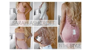 IN THE STYLE X SARAH ASHCROFT COLLAB   Try on haul and review   Freya Farrington