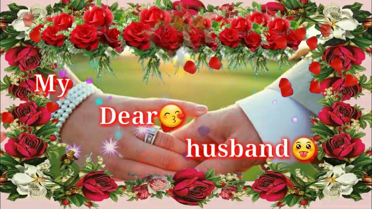 My Dear Husbandi Love You Status For Husband Romantic Good Night