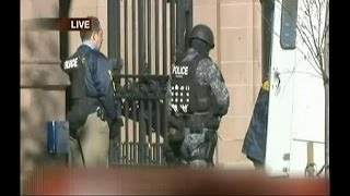 Yale University in lockdown amid gunman alert
