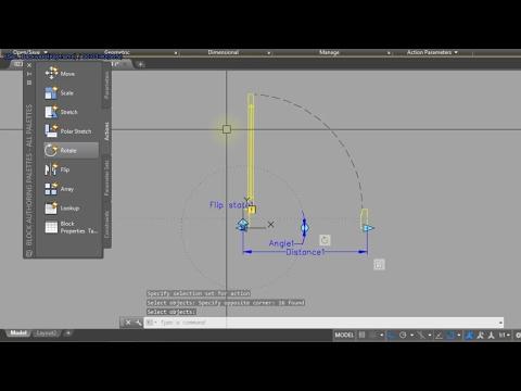 Cara membuat pintu 2D untuk denah di AutoCAD Tutorial ini membahas tentang cara mudah membuat simbol.
