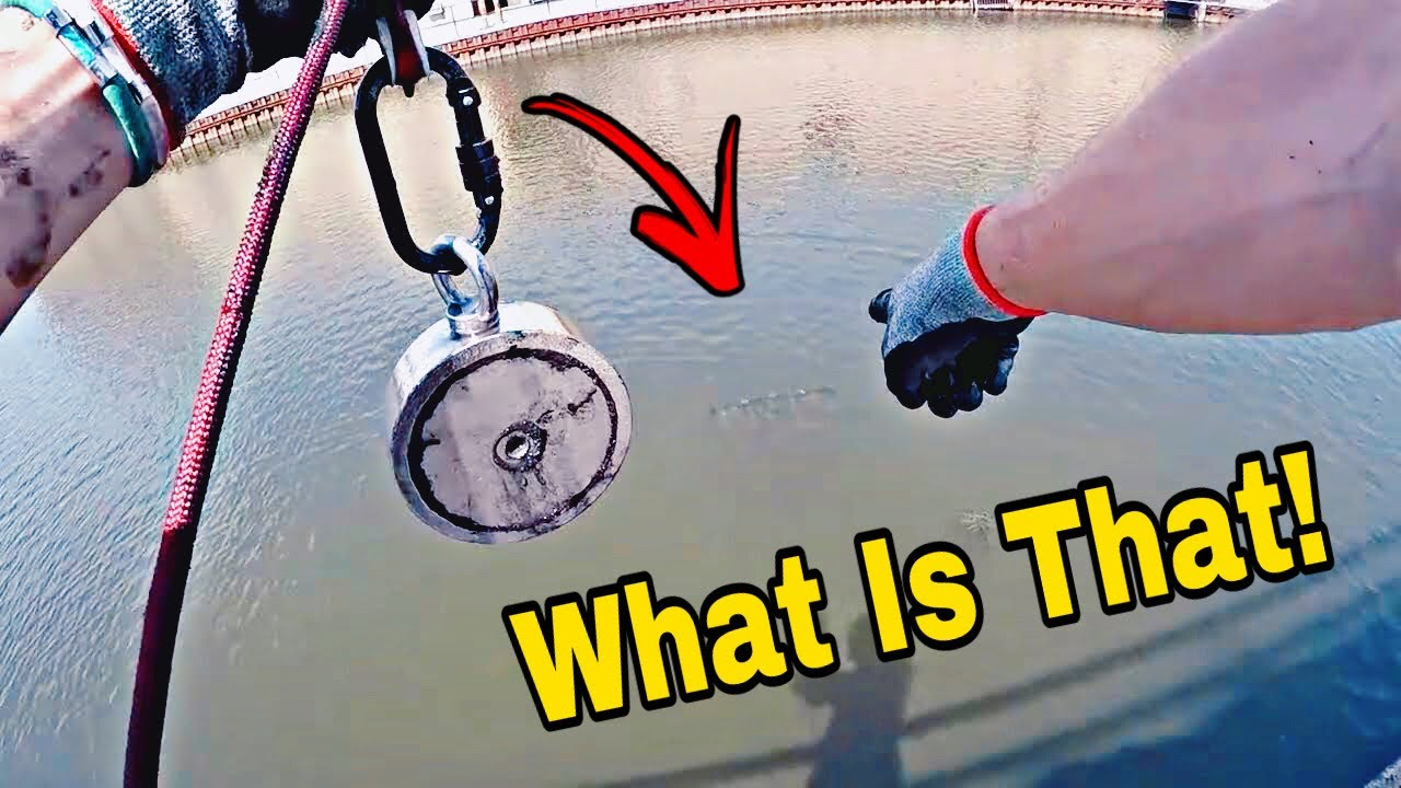 Magnet Fishing With The Most Powerful Magnet On Amazon - You Won't Believe What I Found!!!