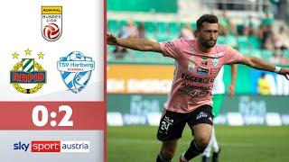 Tadic schockt Rapid zum Auftakt   Rapid Wien - TSV Hartberg   Highlights - ADMIRAL Bundesliga