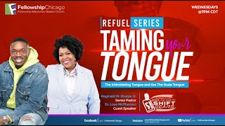 """The Intimidating & Rude Tongue"" Pastor Reginald W. Sharpe Jr. Wednesday June 9, 2021"