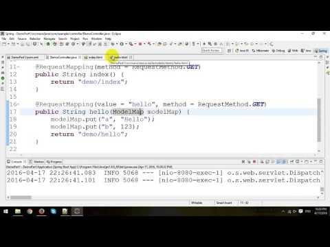 Spring Boot Web Application Tutorial - Thymeleaf - Part 1