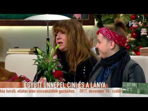 Zalatnay 70: Cini az utolsó pillanatban tudta meg, hogy lánya hazatér a születésnapjára