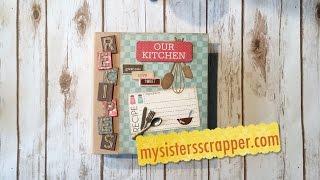Carta Bella Home Sweet Home Recipe Book
