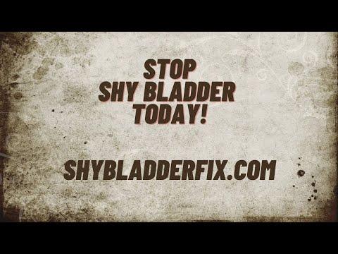 Do You Struggle with Shy Bladder? Overcome Paruresis and Learn How to Make Yourself Pee - Видео онлайн