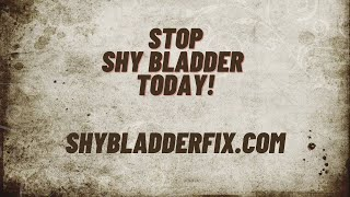 Do You Struggle with Shy Bladder? Overcome Paruresis and Learn How to Make Yourself Pee