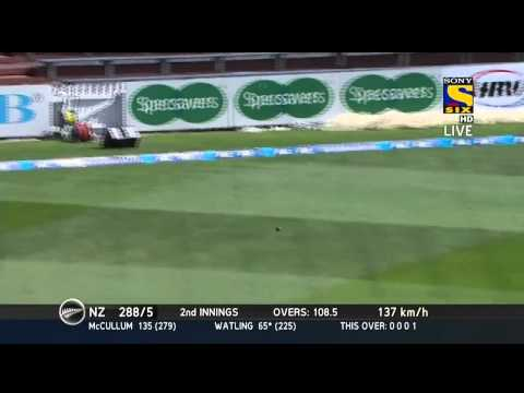 BJ Watling slams a Century   Match 2   NZ vs IND   Day 4   New zealand india cricket series