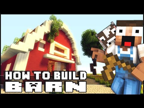 Minecraft - How to Build a Barn