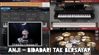 Anji - Bidadari Tak Bersayap (Karaoke) FL Studio Mp3